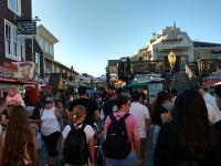 Menschenmenge am Fishermans Wharf