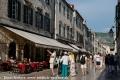 Touristen in der Altstadt von Dubrovnik