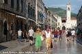 Touristen auf der Stradun in Dubrovnik