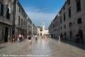 Blick auf die Stradun in Dubrovnik