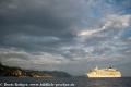 The World Kreuzfahrtschiff vor Dubrovnik