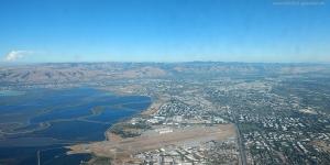 USA: Anflug auf San Francisco
